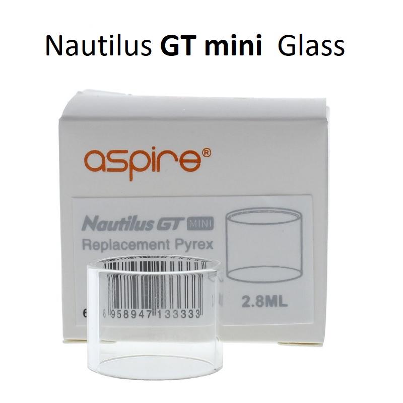 Nautilus GT Mini Pyrex Glass Tube 2.8ml